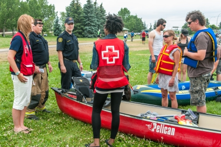 Water Safety with Canadian Red Cross and Calgary Fire Department