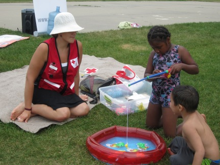 Kids learn about water safety