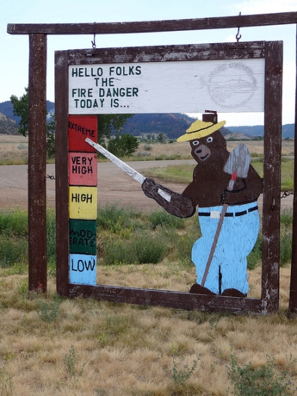 fire danger in Montana