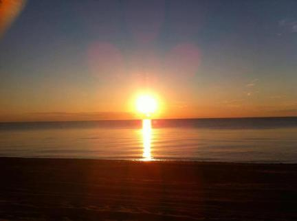 Sunset at the beach in Tignish, Prince Edward Island
