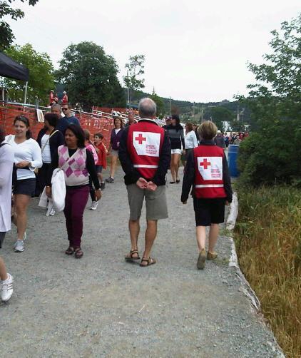 Red Cross volunteers St. John's Regatta