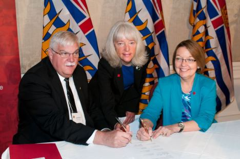 The Canadian Red Cross and BC government formalize a partnership for disaster responses