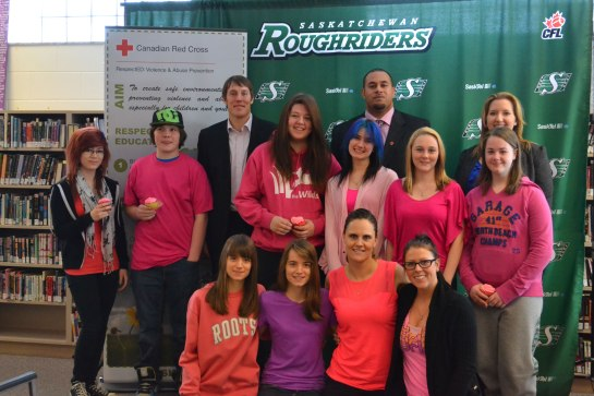 Saskatchewan Roughriders partner with Canadian Red Cross