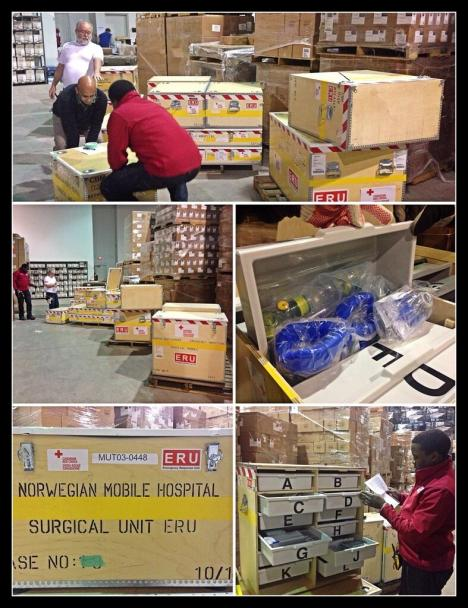 The Canadian Red Cross is preparing to deploy its field hospital to the Philippines. Photo shared on Twitter by @TomPodolec.
