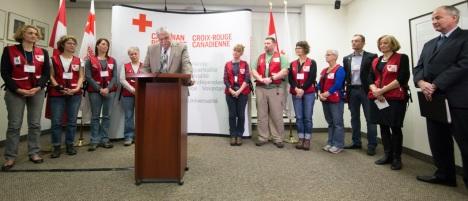 Red Cross ERU Delegates