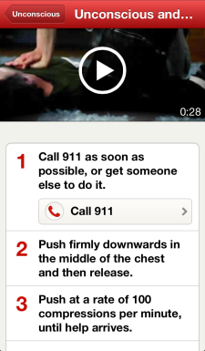 photo CPR first aid app
